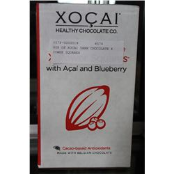 BOX OF XOCAI DARK CHOCOLATE X POWER SQUARES