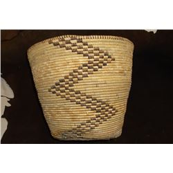 "Tightly Woven SW Basket- Bottom Has Been Repaired- 12""H x13""W"