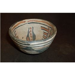 "Small SW Pottery Bowl- 4""W X 2.25""H"
