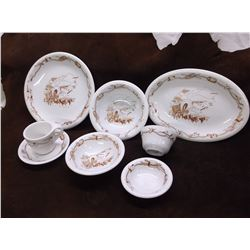 This is a Used Western Dinnerware Set from Harolds Club in Reno- It Was Sold as Used In the Early 60