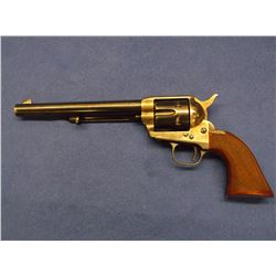 "Cimarron Revolver- .38-40- Made in Italy- 7.5"" Barrel- Checkered Grips- Box- Marked CA- G Stan T #P1"