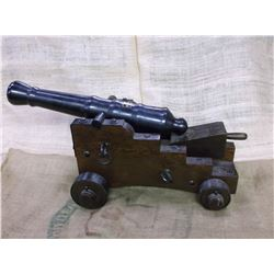 "A & J MFG. CO. INC. Cannon- 20"" Barrel- Adjustable Elevation- On Wheels- Loading and Cleaning Acc."