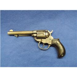 "Colt DA 1877 Thunder Revolver-.41 Caliber- 5"" Barrel- 1897- Needs a Gunsmith- Matching 105147"
