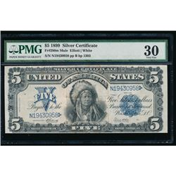 1899 $5 Chief Silver Certificate PMG 30
