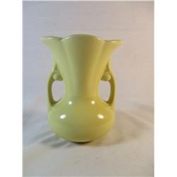 USA Marked Yellow Vase