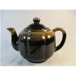 Brown Drip Tea Pot