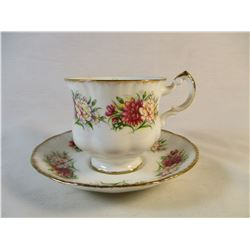 Paragon Teacup and Suacer Hard to Find Pattern