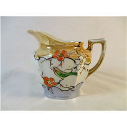 Vintage Hand Painted Cream Pitcher Made in Japan