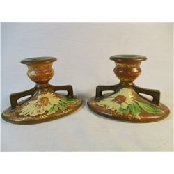 Roseville 1924-28 Candle Holders