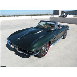 1:30PM SATURDAY FEATURE 1965 CHEVROLET CORVETTE ROADSTER MATCHING NUMBERS FACTORY AC STINGRAY