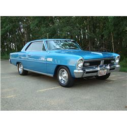 3:00PM SATURDAY FEATURE 1967 ACADIAN CANSO SD SPORT DELUXE L79 - 4 SPEED