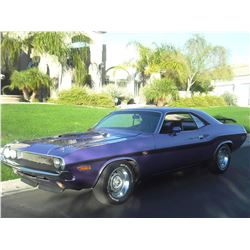 2:30PM SATURDAY FEATURE 1970 DODGE CHALLENGER 426 HEMI SHAKER 4 SPEED