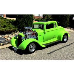 12:30PM SATURDAY FEATURE 1933 PLYMOUTH HOT ROD COUPE