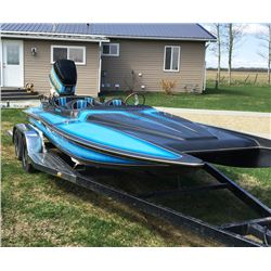 1986 CUSTOM ELIMINATOR 19FT POWER BOAT