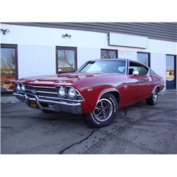 1969 CHEVROLET CHEVELLE 396 SS SUPER SPORT 4 SPEED MATCHING NUMBERS
