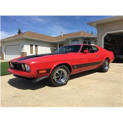1973 FORD MUSTANG MACH I 351 COBRA JET