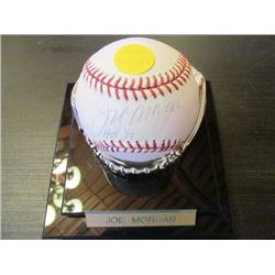 AUTOGRAPHED MLB BASEBALL - JOE MORGAN HOF90