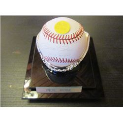 AUTOGRAPHED MLB BASEBALL - PETE ROSE