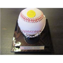 AUTOGRAPHED MLB BASEBALL - WHITEY FORD