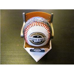 2 LOTS SELLING AS ONE - 2009 YANKEE STADIUM INAUGURAL SEASON BASEBALL AND MARK MCGWIRE SPECIAL EDITI