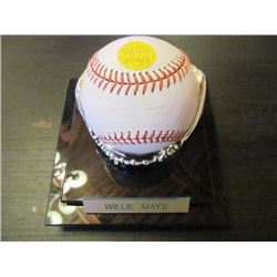 AUTOGRAPHED MLB BASEBALL - WILLIE MAYS