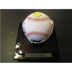 AUTOGRAPHED MLB BASEBALL - ROD CAREW
