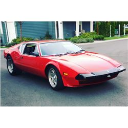 4:30PM SATURDAY FEATURE 1972 DE TOMASO PANTERA STUNNING RESTORATION