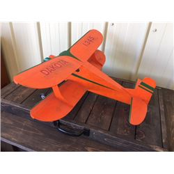 FRIDAY NIGHT VINTAGE COLLECTIBLE WOODEN RC PLANE