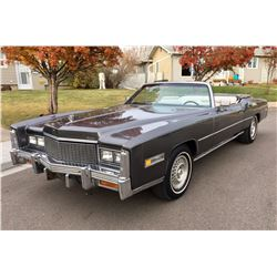FRIDAY NIGHT 1976 CADILLAC FLEETWOOD ELDORADO CONVERTIBLE