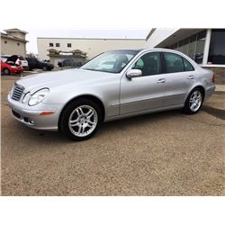 NO RESERVE 2004 MERCEDES E320 4MATIC 4-DOOR