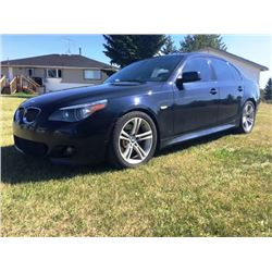 NO RESERVE 2007 BMW 550i 4-DOOR