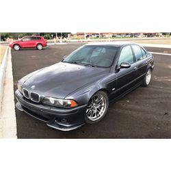 NO RESERVE 2001 BMW M5 4-DOOR SEDAN