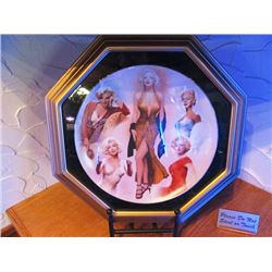 COLLECTOR PLATE - MARILYN MONROE LIMITED EDITION