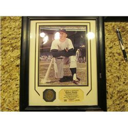 3 FRAMED PRINTS FEATURING MICKEY MANTLE AND ROGER MARIS LIMITED EDITION