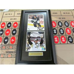 2 FRAMED SIDNEY CROSBY PICTURES