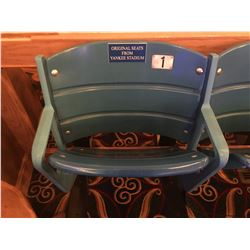 NEW YORK YANKEES ORIGINAL STADIUM SEATS