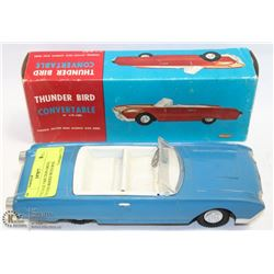 COLLECTIBLE FRICTION DRIVE THUNDERBIRD CONVERTIBLE WITH BOX