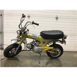 FRIDAY NIGHT! 1972 Honda 70 Trail Motorbike