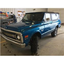 FRIDAY NIGHT!1970 GMC K5 BLAZER 4X4 BEAUTIFULLY RESTORED
