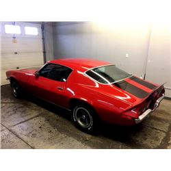 FRIDAY NIGHT 1973 CHEVROLET CAMARO Z28 4 SPEED