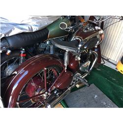 FRIDAY NIGHT! 1948 TRIUMPH SPEED TWIN DESIGN SUPER RARE VINTAGE 5T SPEED TWIN