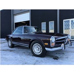 FRIDAY NIGHT! 1969 MERCEDES BENZ 280SL PAGODA WITH HARDTOP