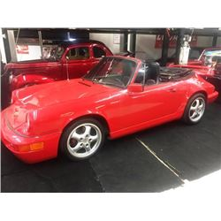 FRIDAY NIGHT! 1983 PORSCHE 911 CABRIOLET
