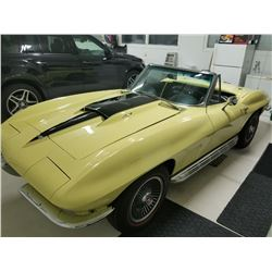 4:00PM SATURDAY FEATURE 1967 CORVETTE 427 400HP TRI POWER GM DOCUMENTED
