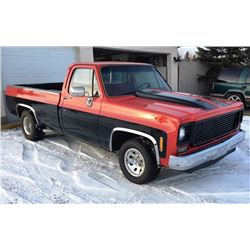 1977 CHEVROLET C10 CUSTOM PICKUP 383 STROKER