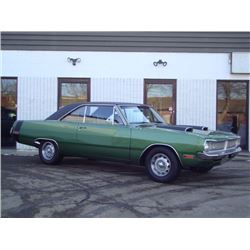 1970 DODGE DART 340 4 BBL BUILD SHEET