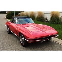 1965 CHEVROLET CORVETTE 327/300HP 4 SPEED ROADSTER