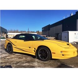 2002 FIREBIRD TRANS AM CONVERTIBLE COLLECTOR EDITION ONLY 6700 KMS!