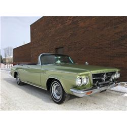 1963 CHRYSLER WINDSOR CONVERTIBLE SUPER RARE CANADIAN GEM