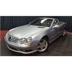 2003 MERCEDES BENZ SL55
